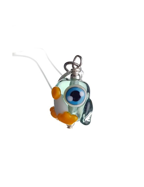 CUTE GLASS - Pippin Penguin Pendant - Classic Collection