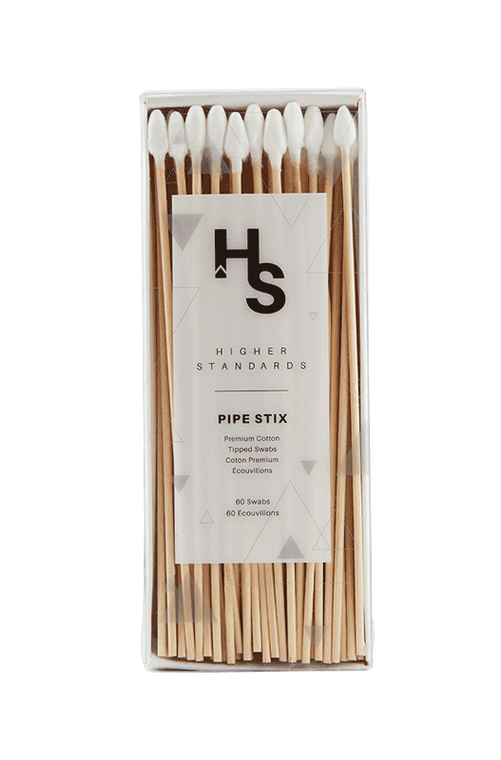 HIGHER STANDARD - Pipe Stix Glass Cleaning Swabs (60 Pack)