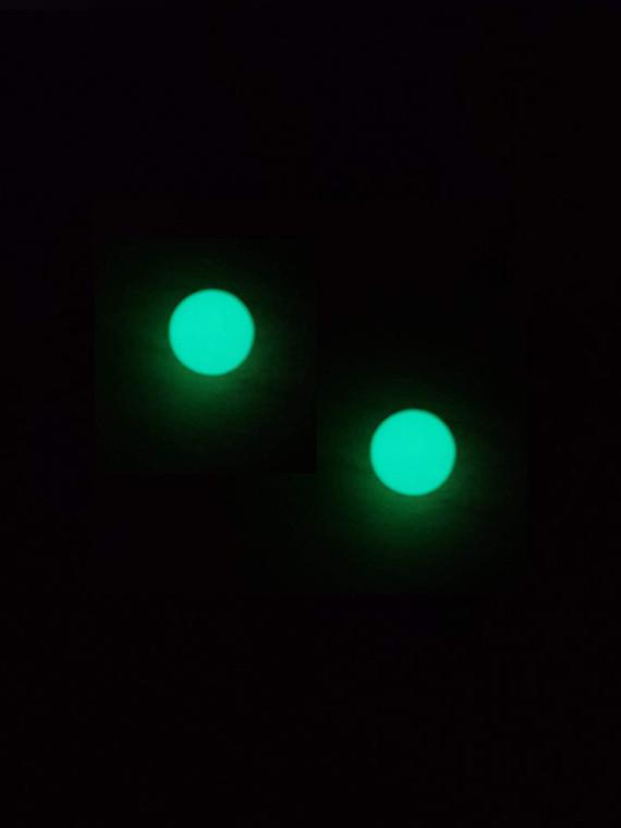 QUARTZ TECH - 6mm Glow in the Dark Boro Banger Beads / Dab Pearls (2 Pack)