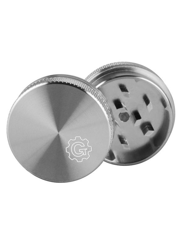 """GRINDHOUSE - Silver 2-Piece Grinder - 2.2"""""""