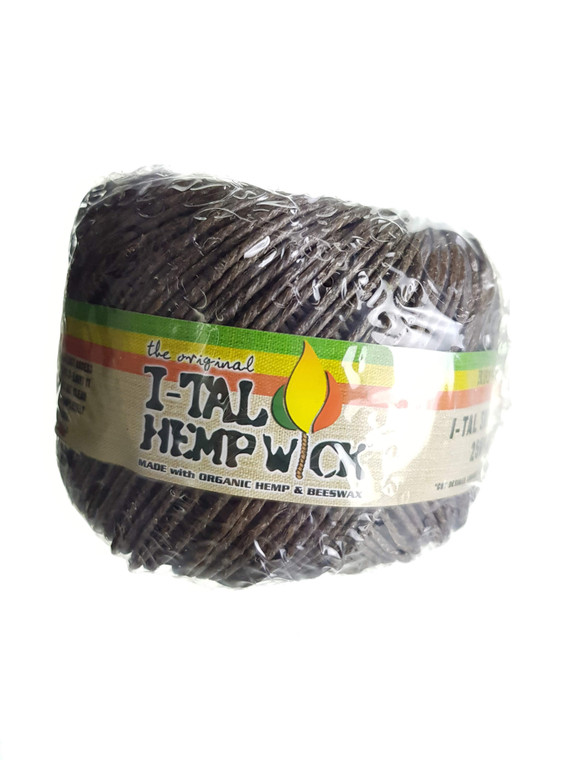 I-TAL - Supreme Hemp Wick Spool (250 ft.)