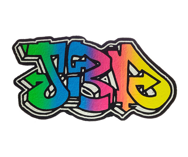 JEROME BAKER DESIGNS - Mood Mat Bong Pad Coaster - JBD Fade