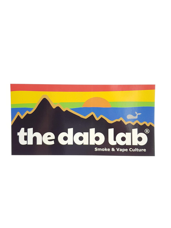 "The Dab Lab ""Pacifica"" Sticker"