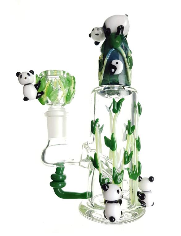 EMPIRE GLASSWORKS - Panda Buddies Dab Rig w/ 14mm Female Joint & Slide