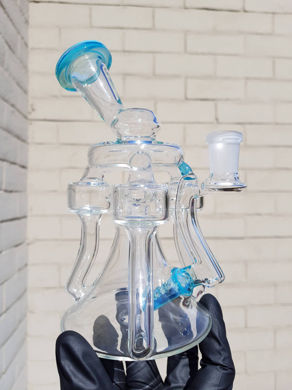 GOBS - Triple Drain Recycler Rig w/ 14mm Female Joint - Metaterrania