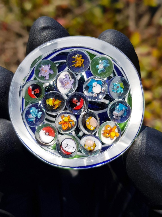 KEYS - Glass Millie Terp Pearls - Pokemon (Select Image)