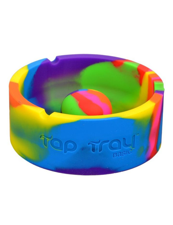 PULSAR - Tap Tray Premium Silicone Ashtray - Tie Dye