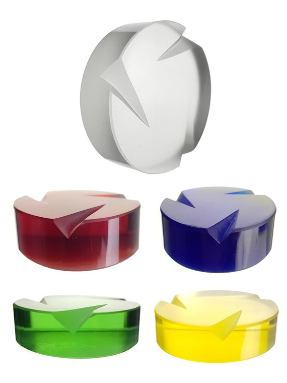 STR8 - Glass Coin Spinner Carb Cap (Pick a Color)