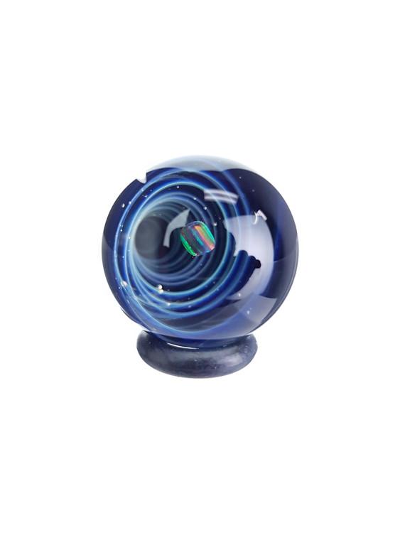TERP SPHERE - Marble Spinner Carb Cap for Quartz Banger - Opal & Fume Vortex #4
