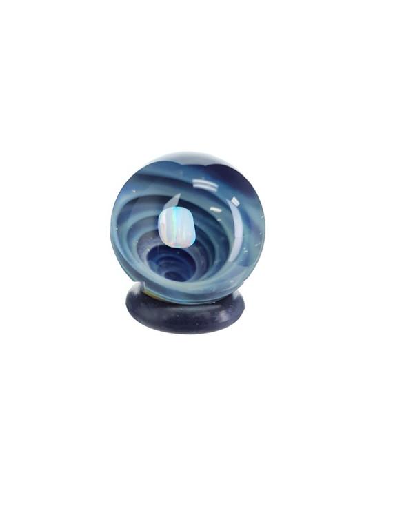TERP SPHERE - Marble Spinner Carb Cap for Puffco Peak - Opal & Fume Vortex #2