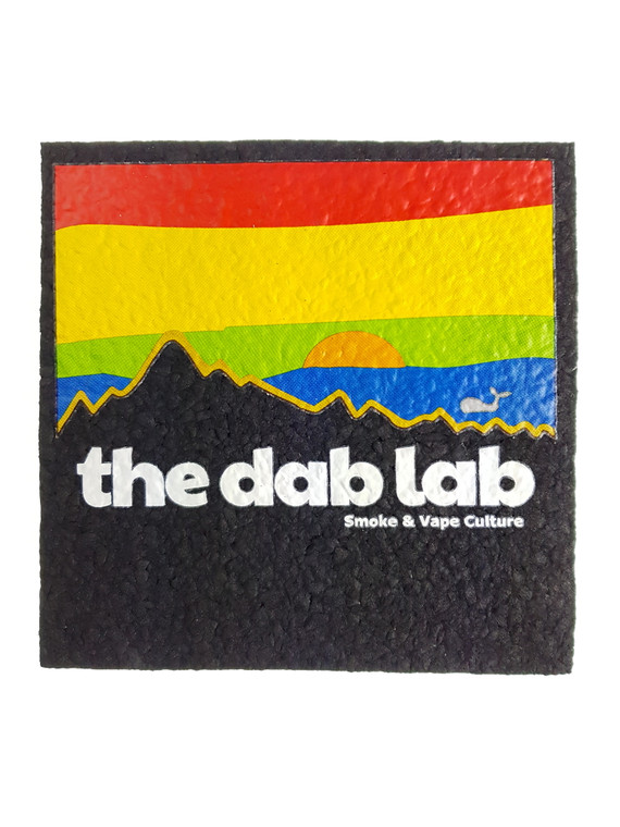 "MOODMATS - 5"" Square Bong Pad & Dab Rig Coaster - The Dab Lab (Pacifica)"