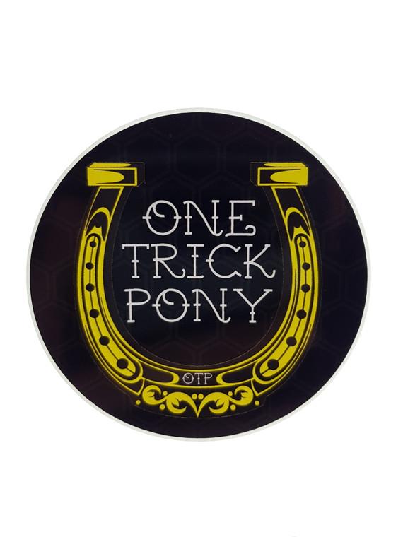 ONETRICKPONY - OTP Horseshoe Sticker