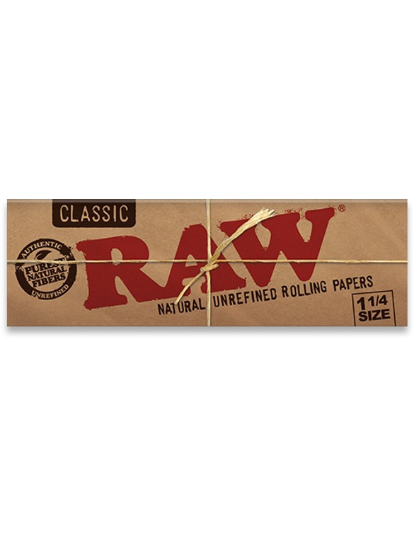 """RAW - Classic Natural Rolling Papers (1.25"""")"""