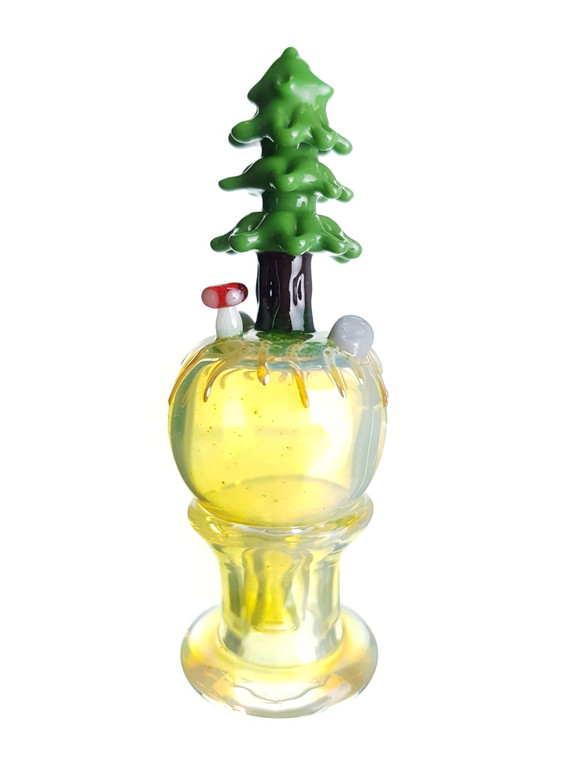 LOS 1 GLASS - Mini Forest Bubble Carb Cap - #3