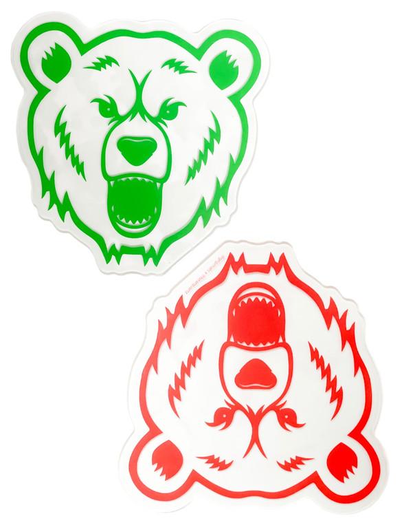 GRIP MATS - Bong Pad & Dab Rig Adhesive Coaster - Bear Quartz (Pick a Color)