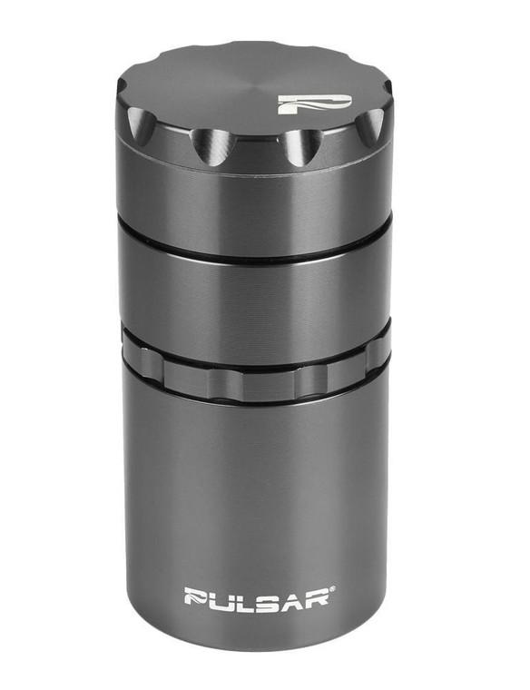 """PULSAR - 2"""" Grinder / Storage Container - Gunmetal"""