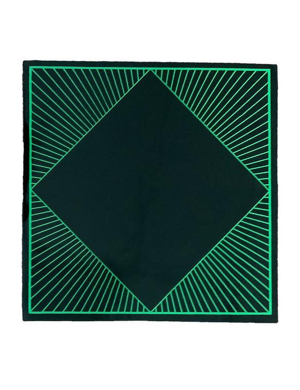 "GRIP MATS - 8"" Bong Pad & Dab Rig Adhesive Coaster (Pick a Design / Color)"