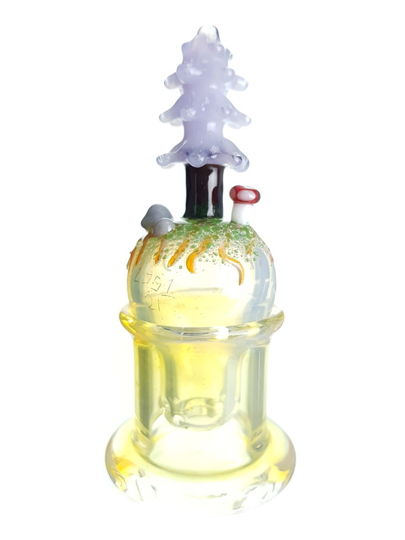 LOS 1 GLASS - Mini Forest Spinner Bubble Carb Cap - #3