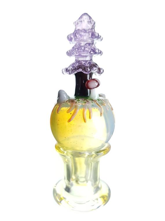 LOS 1 GLASS - Mini Forest Bubble Carb Cap - #1