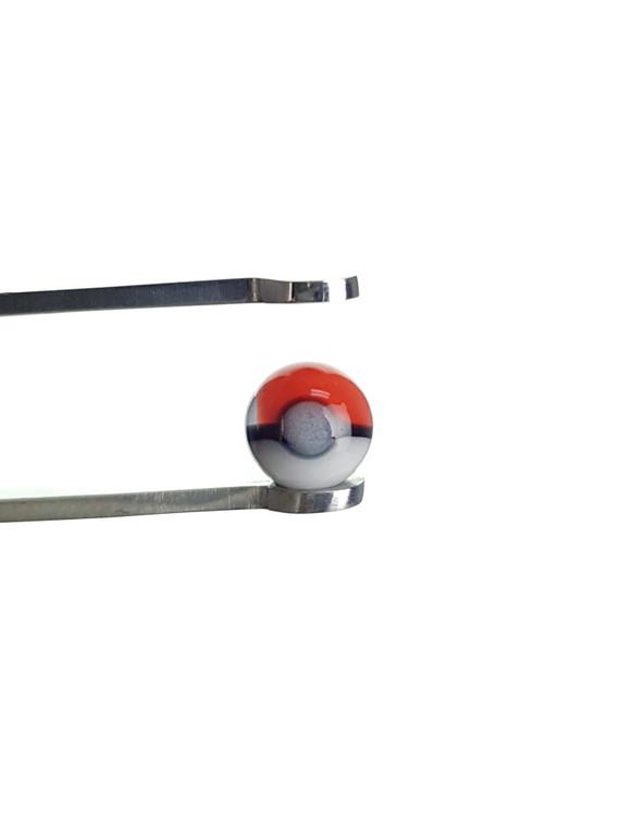 DANI GIRL - Glass Pokemon Pokeball Terp Pearl / Valve