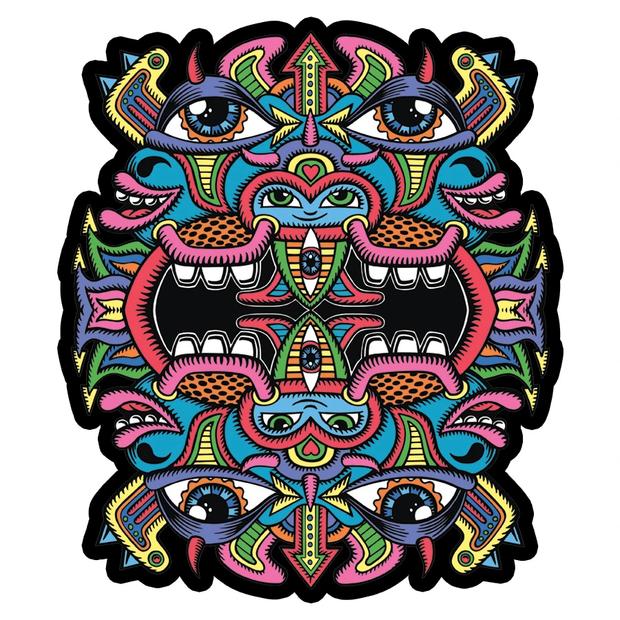 MOODMATS - Artist Series Bong Pad & Dab Rig Coaster - Chris Dyer
