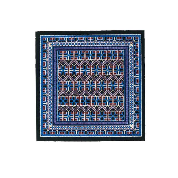 """MOODMATS - 5"""" Square Bong Pad & Dab Rig Coaster - Flagship Carpet"""