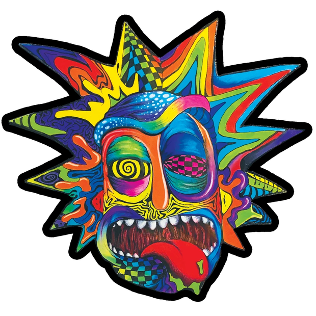 MOODMATS - Artist Series Bong Pad & Dab Rig Coaster - VisualFiber