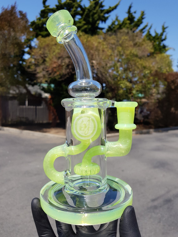 OJ - Klein Incycler Dab Rig w/ 14mm Female Joint - Green Slyme