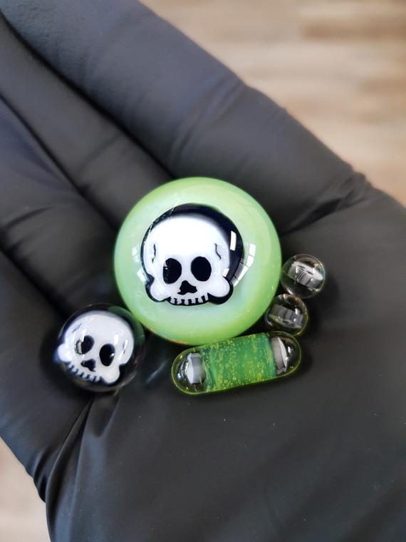 HENDY - Skull Millie Terp Slurper Accessory Set - #1