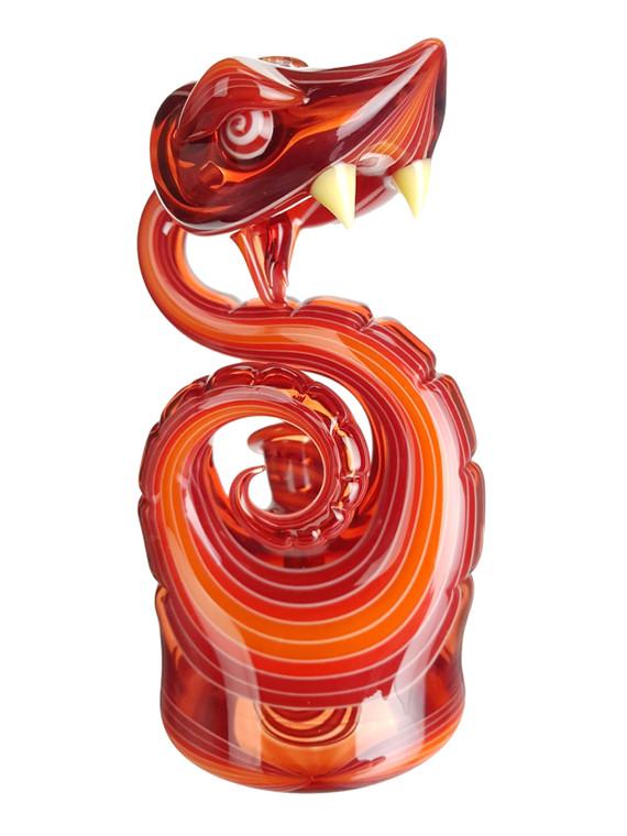 NIKO CRAY - Snake Set w/ Rig, Pipe, Pendant, Carb Cap, Banger Insert, Moodmat, and Pelican - Fire