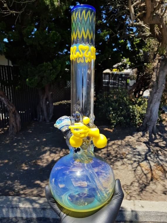 "JEROME BAKER DESIGNS - 50mm ""Old School JBD"" Glass Bong - #4"