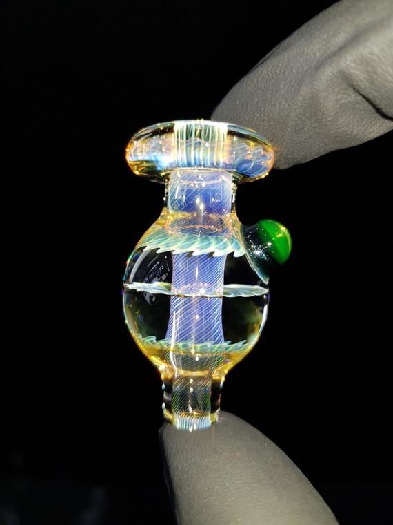 BONELORD Glass - Triple Fumicello Bubble Carb Cap - #5