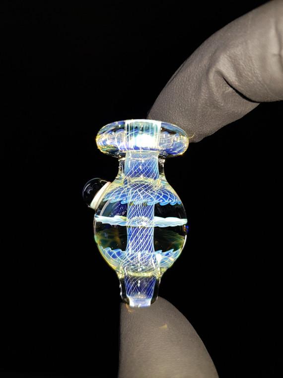 BONELORD Glass - Triple Fumicello Bubble Carb Cap - #8