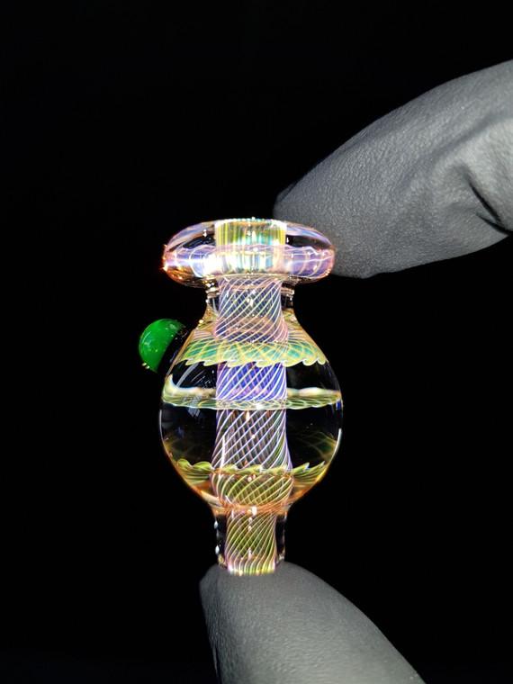 BONELORD Glass - Triple Fumicello Bubble Carb Cap - #10