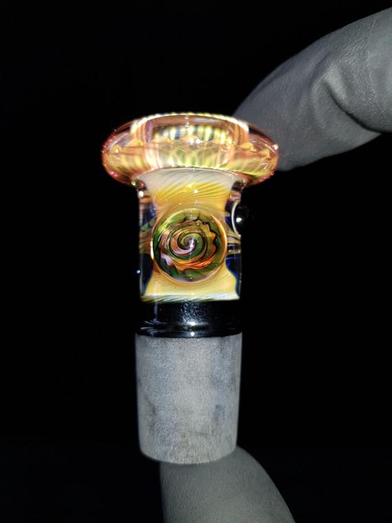 BONELORD Glass - Heady Fumicello Slide w/ 18mm Joint - #2