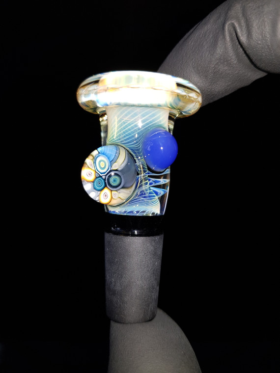 BONELORD Glass - Heady Fumicello Slide w/ 14mm Joint - #4