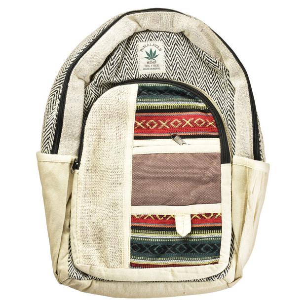 THREADHEADS - Himalayan Hemp Backpack - Southwestern
