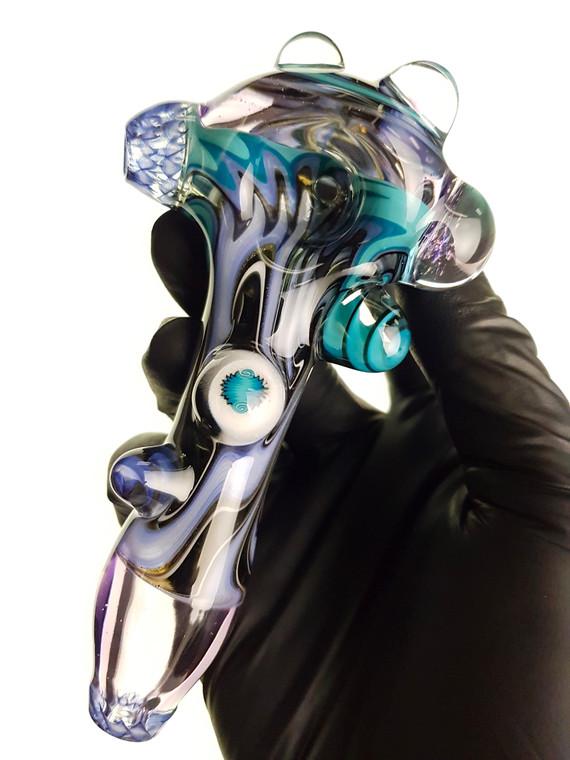 WILLSTAR - Heady Linework Spoon Pipe