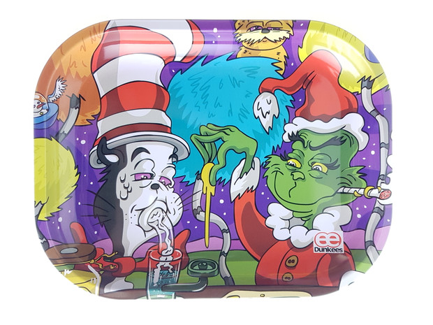"""DUNKEES - Metal Rolling Tray (5.5"""" x 7"""") - Stole 420"""