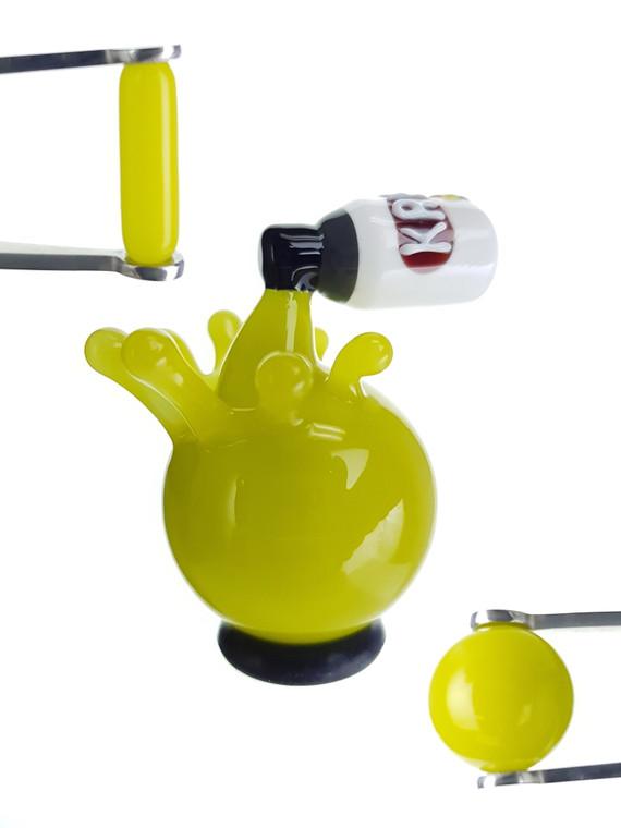 HERETIC - Krylon Spray Paint Terp Slurper Accessory Set - Green
