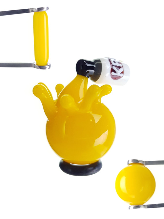 HERETIC - Krylon Spray Paint Terp Slurper Accessory Set - Yellow