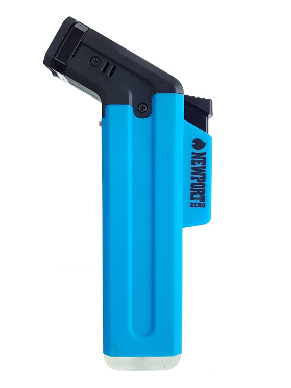 NEWPORT ZERO - Long Side Torch Lighter (Pick a Color)
