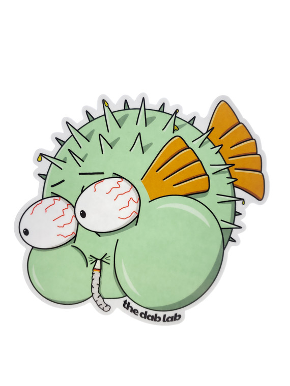 """THE DAB LAB - """"Puffin Puffer Fish"""""""