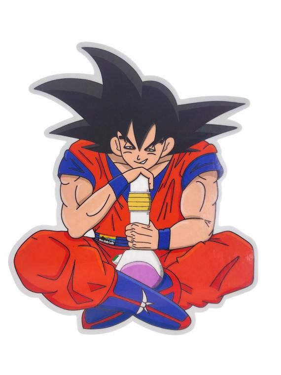 """THE DAB LAB - """"Stoner Meditating Goku"""""""