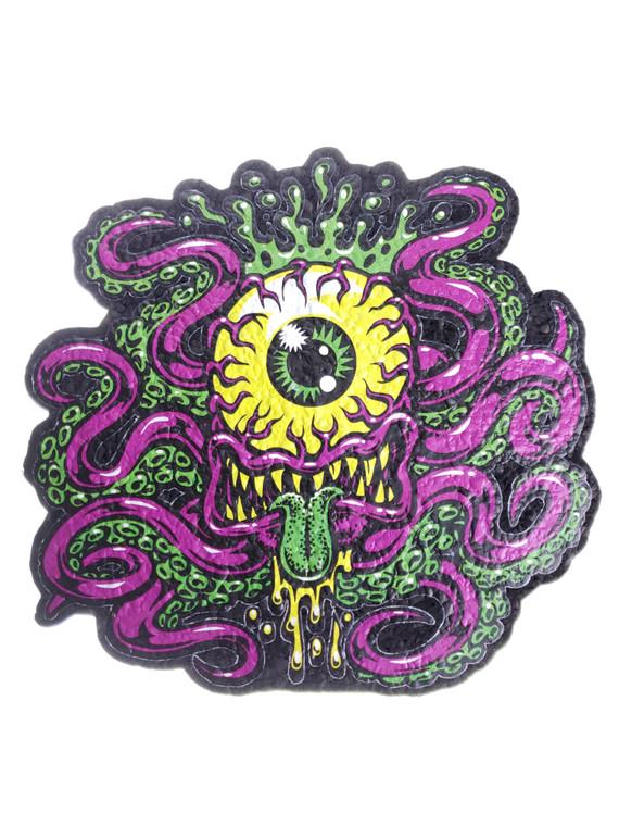 EAST COASTERS - Artist Series Bong Pad & Dab Rig Coaster - Cycloptopus