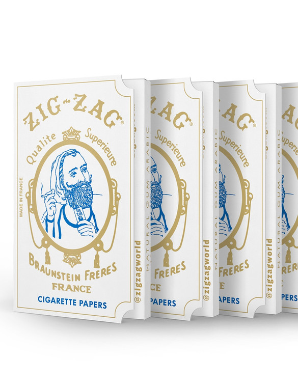 ZIG-ZAG - Original White Rolling Papers (32 Pack)