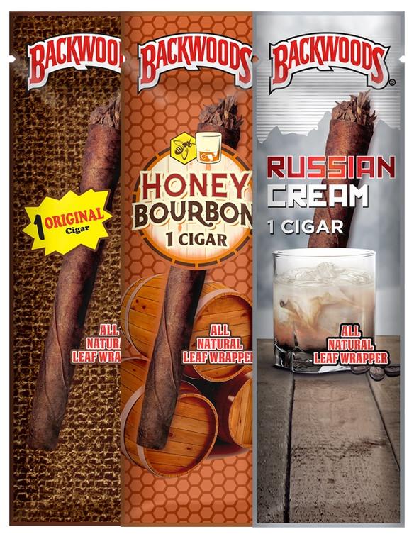 BACKWOODS - All Natural Leaf Wrapper Cigar (Pick a Flavor)