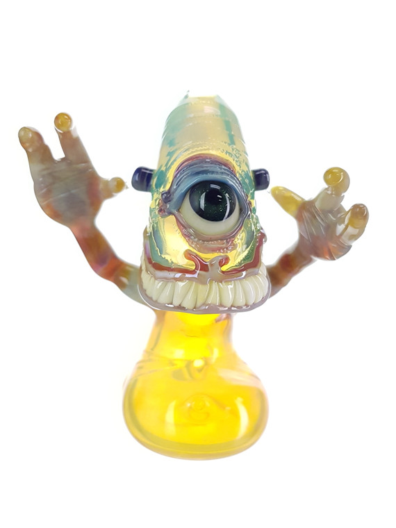 BARD - Glass Smile Cyclops Monster Pipe - #1