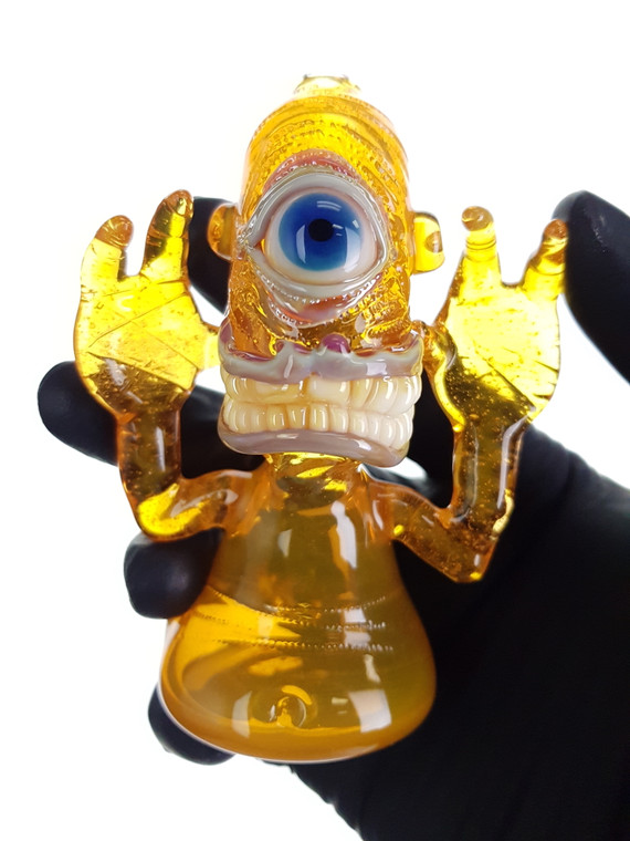 BARD - Glass Smile Cyclops Monster Pipe - #2 (CFL)