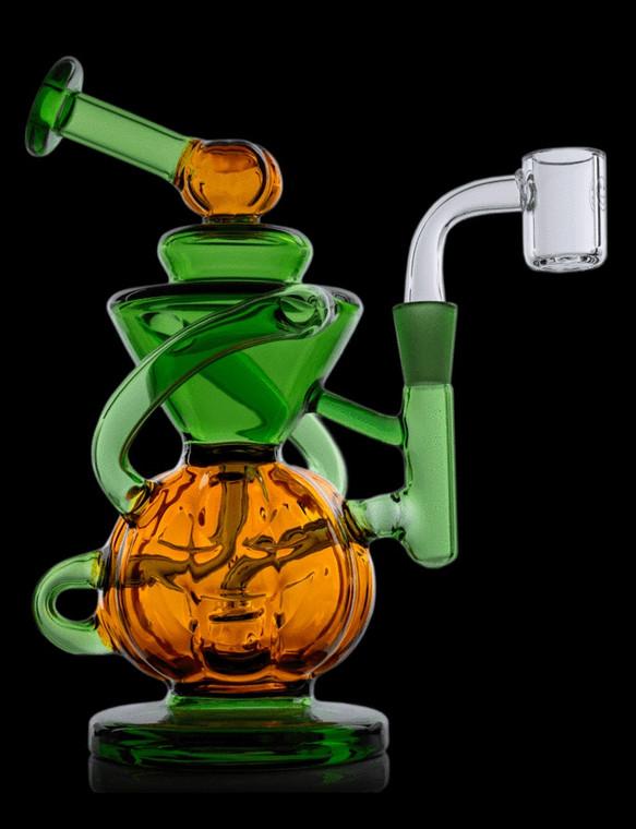 MJ ARSENAL - Goblin Mini Recycler Rig w/ Mini Quartz Banger (Limited Edition)